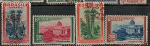 Brazil Used 446-449 Stamp Collection $74.00 Set
