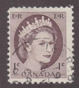 Canada 337 Queen Elizabeth II, Wilding Portrait 1954