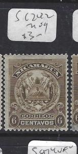 NICARAGUA (P1509B)  SG 242    MOG
