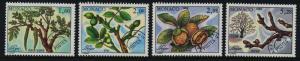Monaco 1809-12 MNH Walnut  Tree, Flower