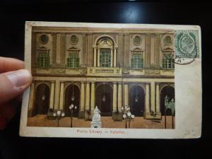 Malta KE 1/2d on Library PPC (16bet)