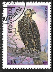 Kyrgyzstan #83 140t Birds - Falco Cherrug