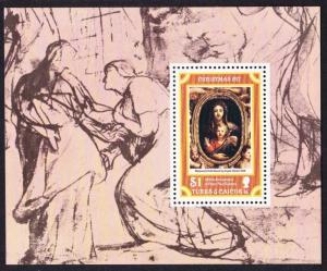 Turks and Caicos 400th Birth Anniversary of Rubens MS SG#MS488 SC#337