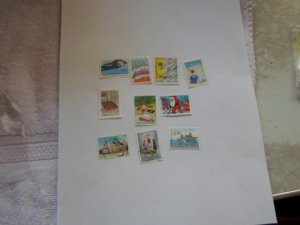 FINLAND STAMPS LOT OF 10 STAMPS IN MIXED CON # 3