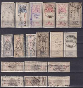 France Revenues Collection 1873-9 (A18795)