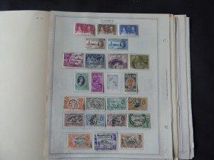 Nigeria 1921-1987 Stamp Collection on Scott International Stamp Album Pages