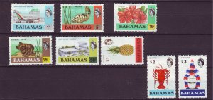 J24183 JLstamps 1978 bahamas set mlh #426-43 designs unwmk
