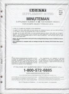 Scott Minuteman Supplement # 44 IssuesThrough 2012