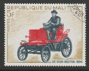 REPUBLIC OF MALI De Dion Bouton Vintage cars 5f used A16P1F2
