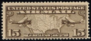 US #C8 Mail Planes and Map; MNH (2Stars)