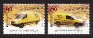 Macedonia Sc# 624-5 MNH Europa 2013