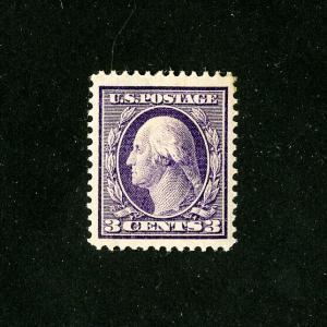 US Stamps # 333 Superb OG Neat Hinge Jumbo
