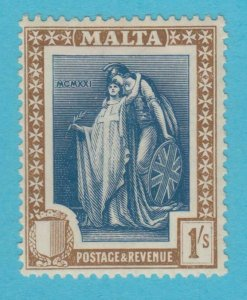MALTA 109  MINT  HINGED OG *  NO FAULTS VERY FINE !