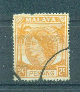 Malaya - Penang sc# 30 used cat value $.50