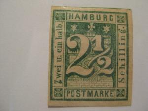 HAMBURG  Sc  12  MINT HINGED  Cat $140