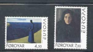 Faroe Islands Sc 302-3 1996  Europa Wives stamp set mint NH