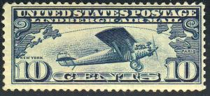 United States Scott C10 Mint never hinged.