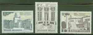 Belgium Scott B776-778 MH* 1965 semi postal set