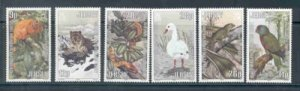 Jersey Sc 320-25 1984 Wildllfe Trust stamps  mint NH