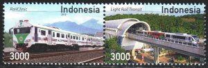 Indonesia. 2018. Train tunnel. MNH.
