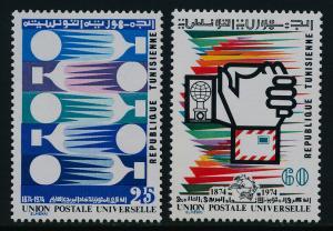 Tunisia 635-6 MNH UPU
