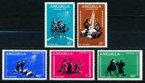 Anguilla #44-48  Set of 5 MH