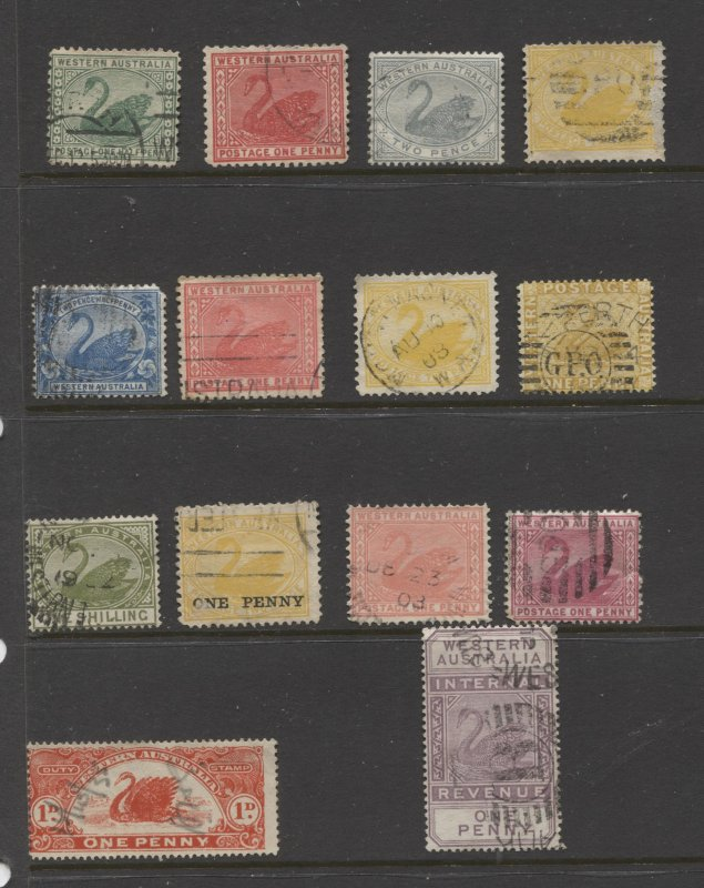 STAMP STATION PERTH Western Australia #Selection of 14 Used Stamps