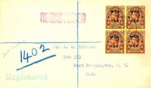 Turks & Caicos Is. 3d KGV Overprinted War Tax (4) 1918 Turks Islands Register...