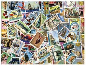 Burkina Faso Stamp Collection - 100 Different Stamps