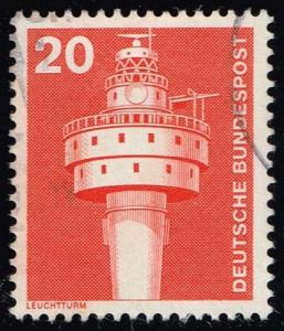 Germany #1172 Old Weser Lighthouse; Used (0.25)