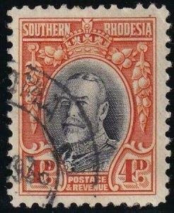Southern Rhodesia 1937 SC 21a Used SCV $70