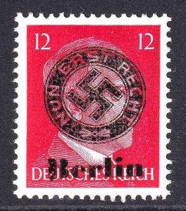 GERMANY 511B BERLIN NUN ERST REICH OVERPRINT OG NH U/M VF BEAUTIFUL GUM