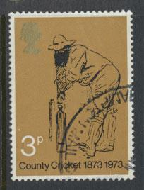 Great Britain SG 928  -  Used -  Cricket