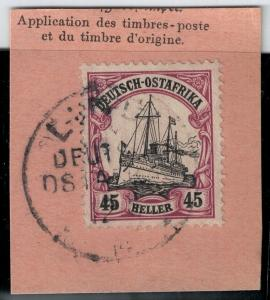 German East Africa 1906 SC 37 Used SCV$ 55.00