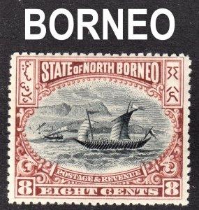 North Borneo Scott 85  F to VF mint OG NH.