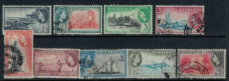 Barbados #235-43  CV $5.50