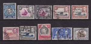 Kenya U.T. a small lot of better KGVI used