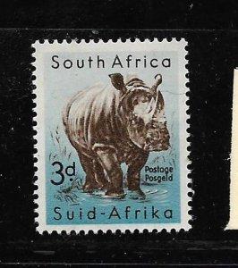 SOUTH AFRICA, 204, MNH, RHINO
