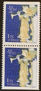 Sweden 1980 #1339 MNH. Christmas, pair