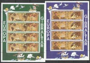 EC056 1992 GIBRALTAR EUROPA CEPT SHIPS COLUMBUS DISCOVERY OF AMERICA 2KB MNH