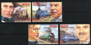 Bequia 237-40   Mint NH VF 1986   PD