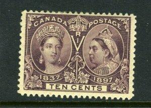 Canada #57 10 cent Jubilee (Mint Hinged) - NICE cv$120.00