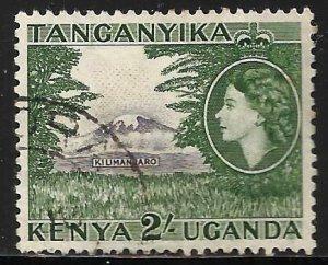 Kenya, Uganda & Tanzania 1954 Scott# 114 Used