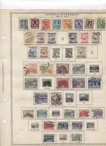STAMP STATION PERTH - Austria #64 Mint Stamps on Paper- Unchecked