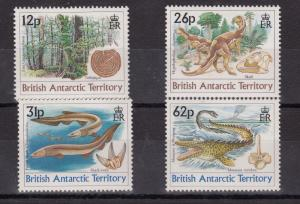 British Antarctic Territory 1991 Dinosaurs Set MNH X8774