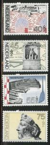 Netherlands Scott B531-534 MNH** 1977 semi-postal set