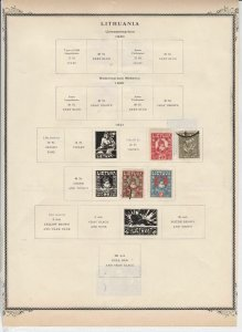 lithuania stamps page ref 17075
