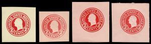 United States Scott U430 Die1 // U431e Die 7 (1916) Mint VF, CV $81.05 B