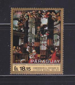 Paraguay 1274 MNH Art, Painting