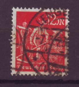 J13693 JLstamps 1922-3 germany used #223 farmers wmk 126